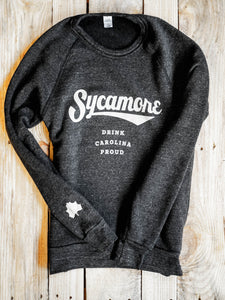 NEW! Sycamore Brewing Crewneck Sweatshirt - Heather Black