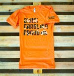 NEW! Drink Carolina Proud Tee- Orange and Camo