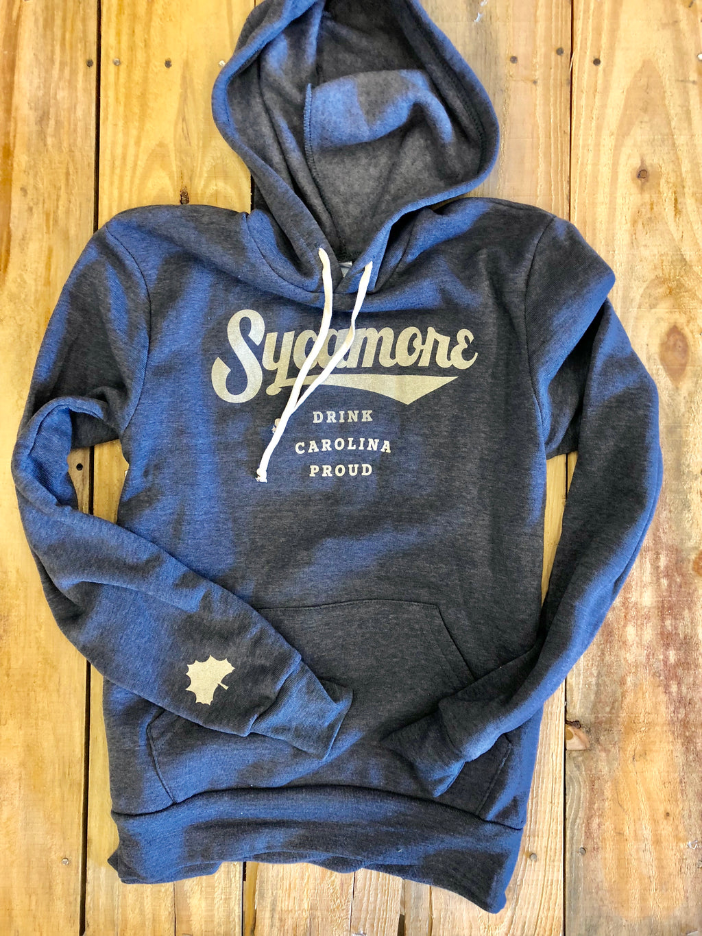 NEW! Sycamore Brewing Hooded Sweatshirt- Navy