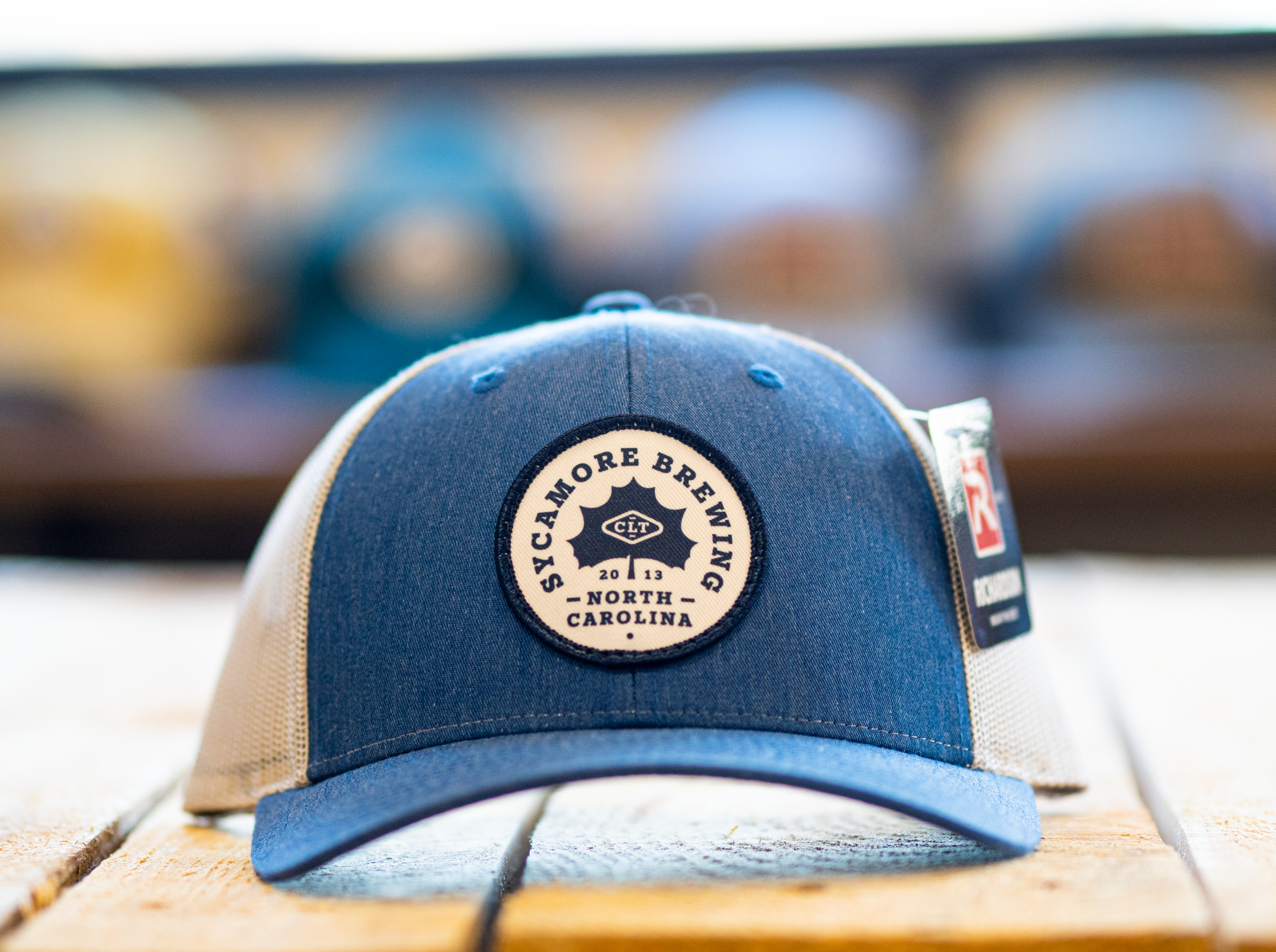 Sycamore Brewing Trucker Hat- Royal Blue