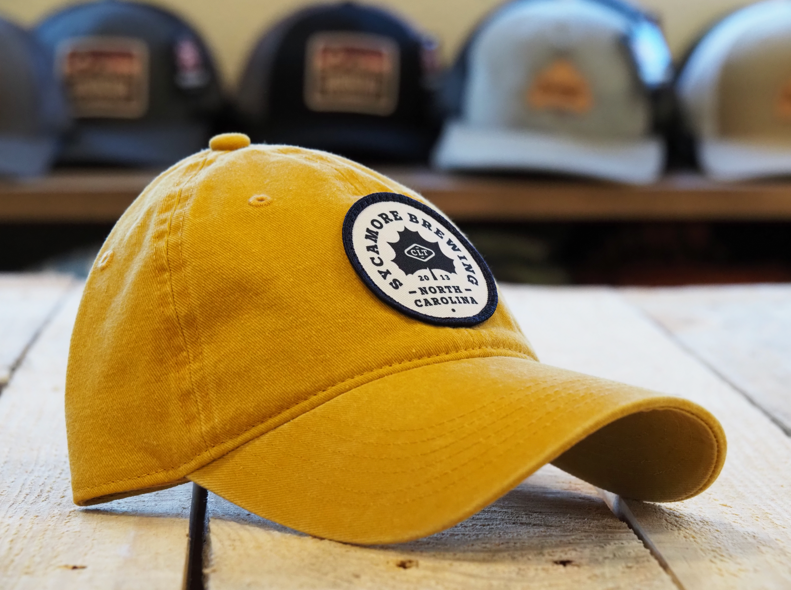 NEW! Sycamore Brewing Relaxed Hats!
