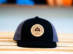 NEW! Sycamore Brewing Trucker Patch Hat- Black and Grey