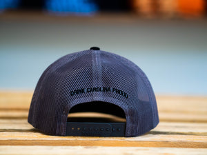 Sycamore Brewing Trucker Patch Hat- Black and Grey