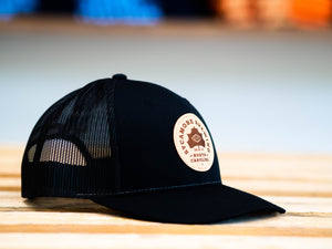Sycamore Brewing Trucker Patch Hat- Black