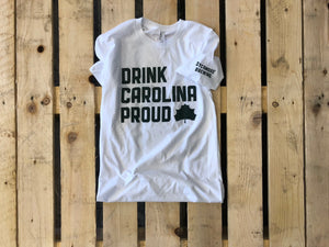 Drink Carolina Proud Tee - White