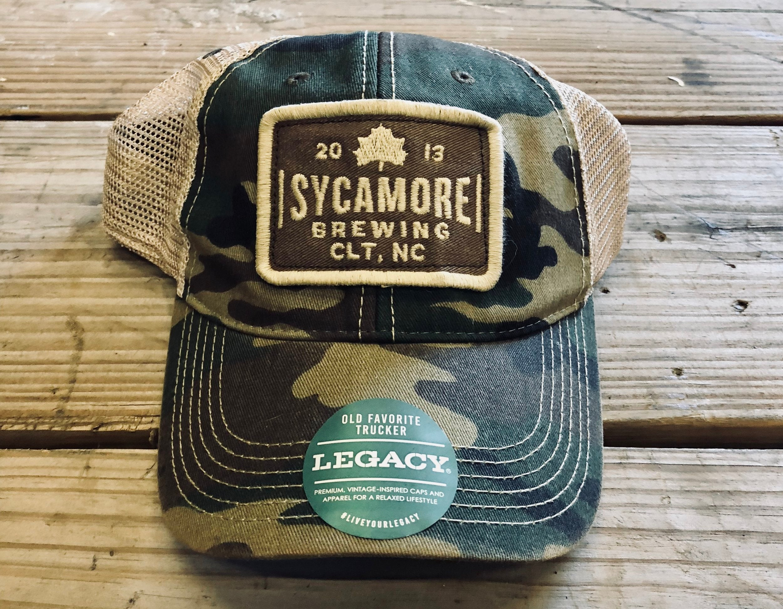 Sycamore Brewing Relaxed Trucker Hats