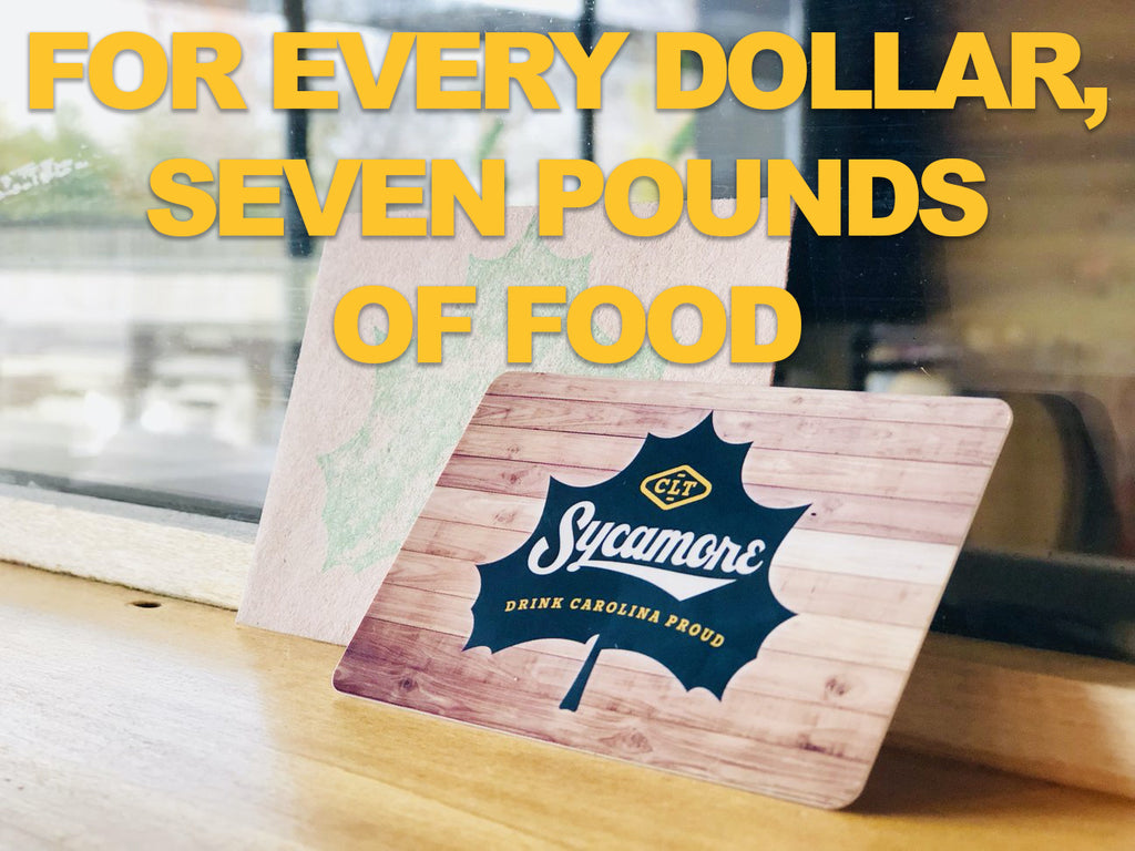 Sycamore + Second Harvest Donation Gift Card