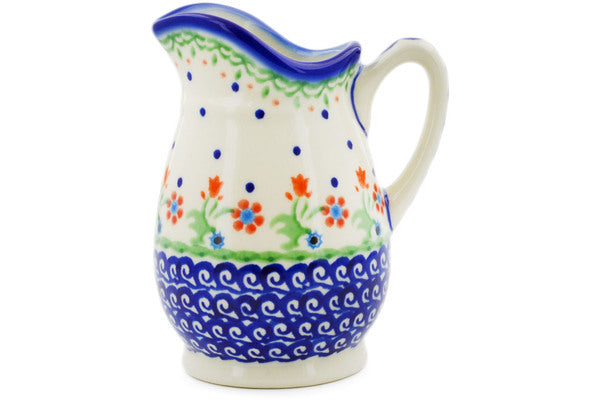 Pitcher 12 oz Spring Flowers Theme