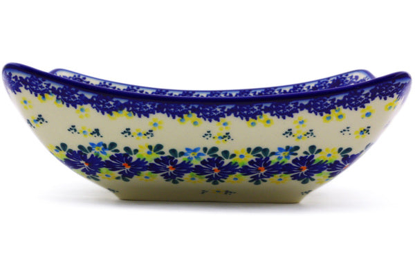 "Square Bowl 8"" Spring Meadow Theme"