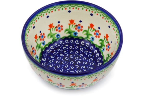 "Bowl 5"" Spring Flowers Theme"