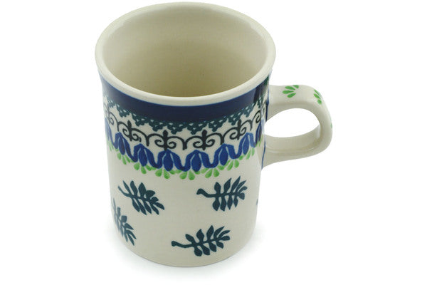 Mug 8 oz Falling Fern Theme