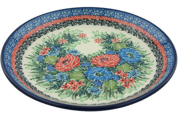 Dessert Plate Kingdom Of Flowers Theme UNIKAT