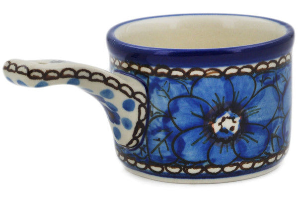 1/3 Cup Measuring Cup Cobalt Poppies Theme UNIKAT