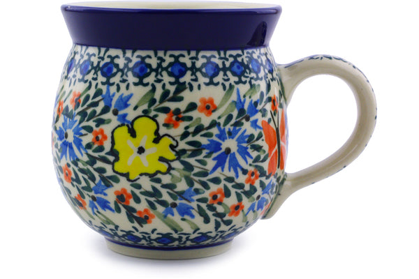 Bubble Mug 12 oz Daylight Garden Theme UNIKAT