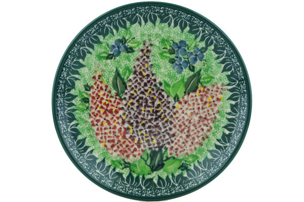 Dessert Plate Heart Of Spring Time Theme UNIKAT