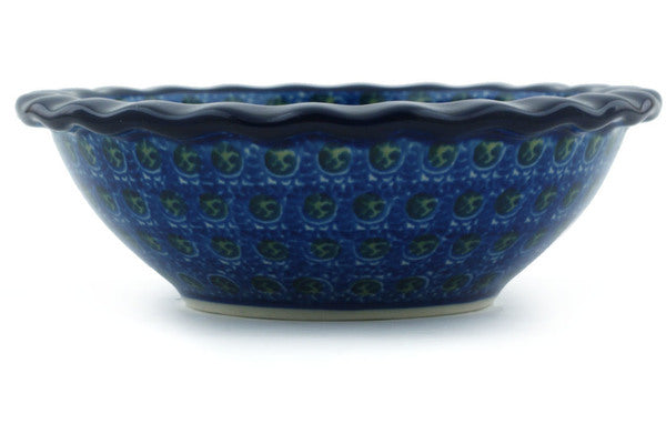 "Bowl 5"" Blue Poppies Theme"