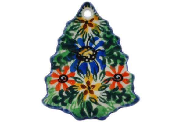 "Christmas Tree Pendant 3"" Profusion Theme UNIKAT"