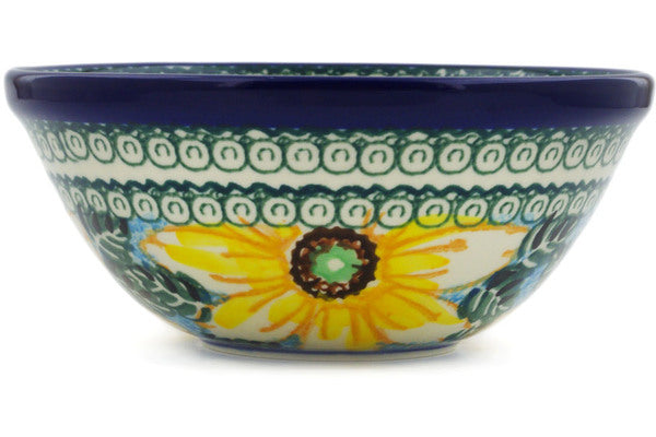 "Bowl 5"" Black Eyed Susan Theme UNIKAT"