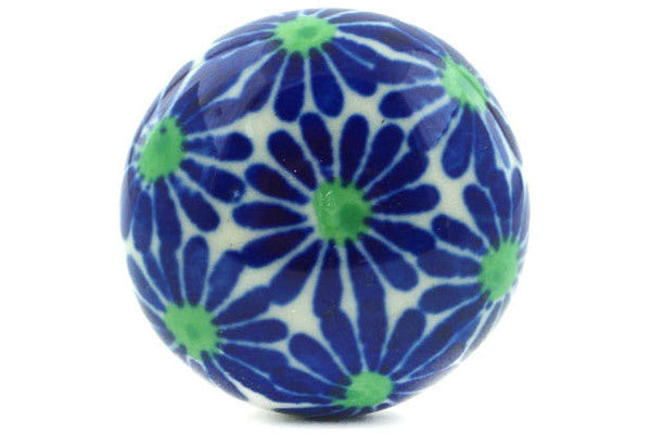 Drawer knob 1-3/8 inch Periwinkle Blues Theme