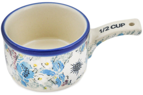 1/2 Cup Measuring Cup Solstice Bloom Theme UNIKAT