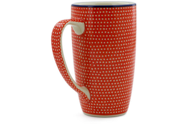 Latte Mug Red Sea Theme UNIKAT