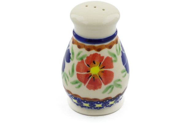 "Pepper Shaker 3"" Paradise Poppy Theme"