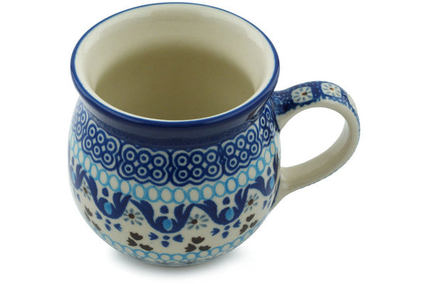 Bubble Mug 8 oz Blue Ice Theme