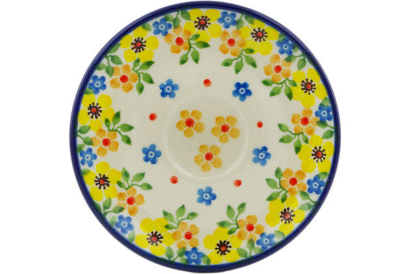 "Saucer 4"" Country Spring Theme"