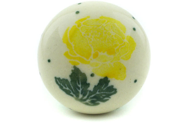 Drawer knob 1-1/2 inch Yellow Rose Theme