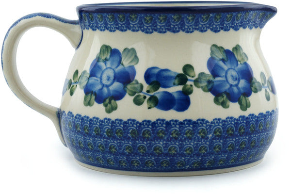 Pitcher 34 oz Blue Poppies Theme