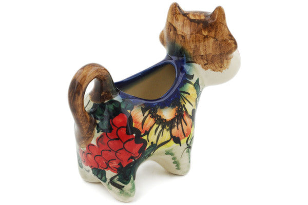 Cow Shaped Creamer 2 oz Croatia Theme UNIKAT