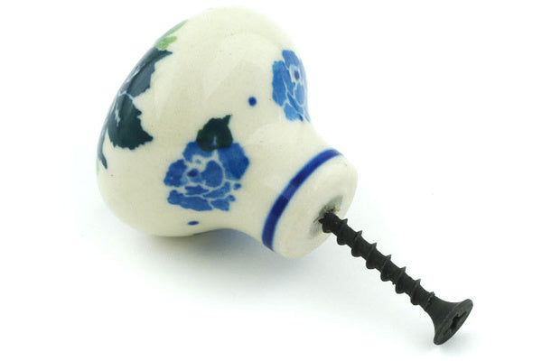 Drawer knob 1-1/2 inch Blue Rose Theme