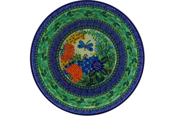 "Bowl 11"" Garden Delight Theme UNIKAT"