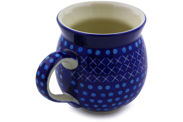 Bubble Mug 12 oz Blue Dawn Theme UNIKAT