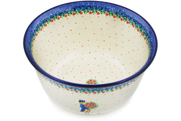 Mixing Bowl 12-inch (8 quarts) Charming Prince Theme UNIKAT