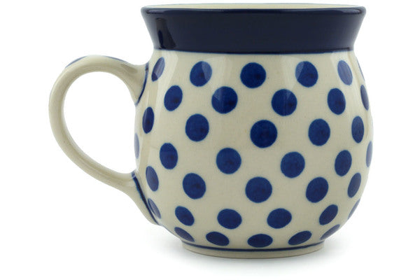 Bubble Mug 8 oz Polka Dot Delight Theme