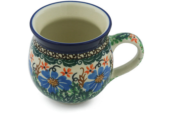 Bubble Mug 12 oz Wheat Flowers Theme UNIKAT