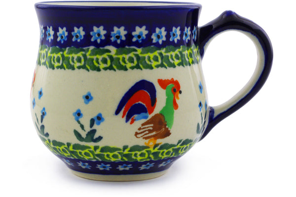 Bubble Mug Small Country Rooster Theme UNIKAT