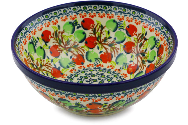 "Bowl 8"" Apple Orchard Theme"