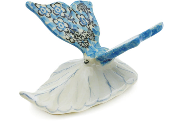 "Butterfly Figurine 5"" Out Of Blue Theme UNIKAT"