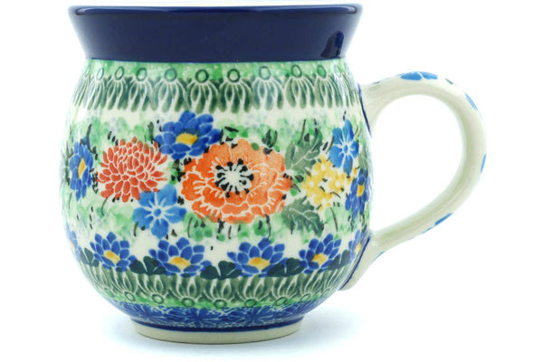 Bubble Mug 12 oz Brilliant Bouquet Theme UNIKAT