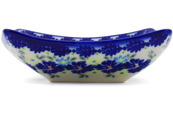 "Square Bowl 5"" Spring Meadow Theme"