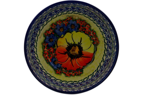 "Bowl 6"" Mystical Garden Theme UNIKAT"