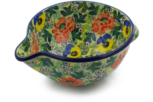 Batter Bowl 7½-inch Breathtaking Theme UNIKAT