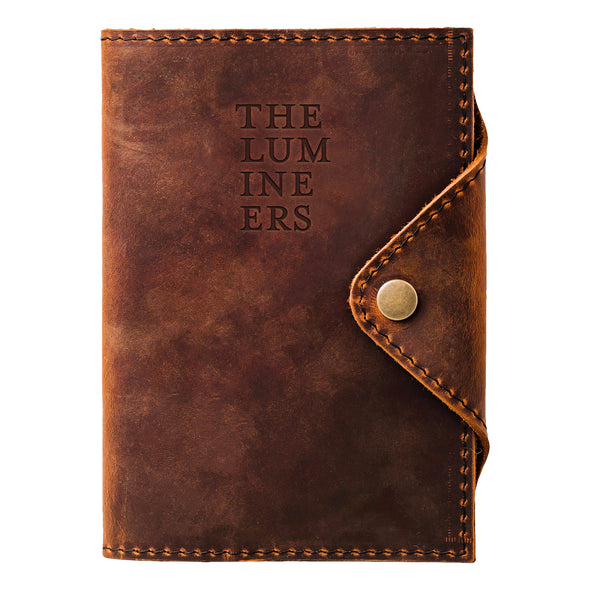 The Lumineers Leather Journal