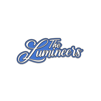 The Lumineers Script Logo Pin