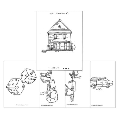The Lumineers coloring book