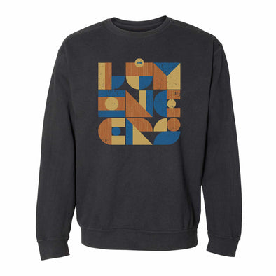 Geometric Logo Crewneck Sweatshirt & Digital Download-The Lumineers