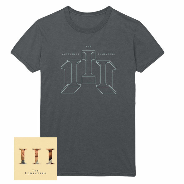 III Album (CD or Vinyl w/ download) + Tee