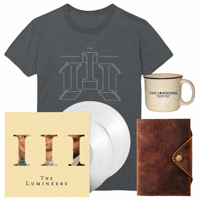 III Album (CD or vinyl w/ download) + Tee + Mug + Journal-The Lumineers
